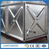 Heiß-Eingetauchte 1.22*1.22m galvanisierte verriegelte Stahlpanel-Wasser-Sammelbehälter