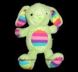 Brinquedo enchido da listra 2014 do arco-íris do luxuoso