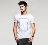 남자를 위한 OEM 의류 공장 검정 t-셔츠