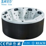 5 persoon Acryl Ronde Massage Bathtub Whirlpools SPA