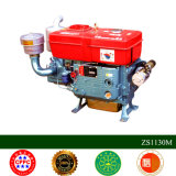 Motor diesel fresco del agua de la potencia grande de Changxiang 30HP Zs1130