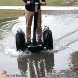 E-Vespa de equilibrio de la movilidad de la rueda grande del vagabundo del viento del uno mismo eléctrico de la vespa