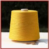 Hilado de seda hecho girar Worsted del 100% para hacer punto