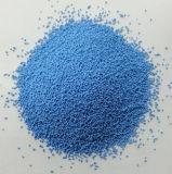 Puntos coloreados del sulfato de sodio con diversos colores