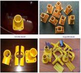 Acessórios de tubulação, sistema de pultrusão FRP / GRP, conectores de tubos de fibra de vidro.