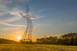 Power&#160のための鋼鉄サブステーションの構造フレームワーク;