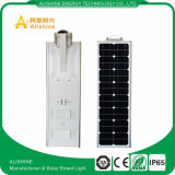 Il fornitore direttamente 30W all'ingrosso ha integrato tutti in un indicatore luminoso di via solare del LED con la batteria Backeup