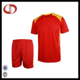 Polyester-Sicherheitskreis-Großverkauf-bester Fußball Jersey