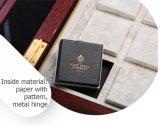 Casaco de pacote de presente de madeira Lubricante de luxo de moda antiga
