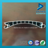 Profil personnalisé d'aluminium de guichet de porte d'obturateur de rouleau de qualité