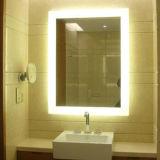 Установленное стеной освещенное контржурным светом СИД зеркало переключателя датчика спальни полнометражное