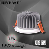 15W druckgießender Aluminium-LED heller Ce&RoHS LED Downlight PFEILER LED Ceilinglight
