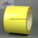 Nastro adesivo d'isolamento elettrico del poliestere (colore giallo)