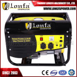 2000With2.2kVA manueller/elektrischer beweglicher Treibstoff-Benzin-Generator für Haus