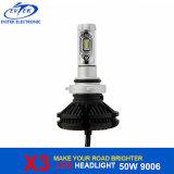 フィリップスLEDチップとの50W 6000lm X3 9006 Hb4 LEDの自動ヘッドライト3000k 6000k 8000k