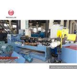 Ligne de réutilisation à deux étages de pelletisation du film Machine/PP de sac de sac tissée par pp
