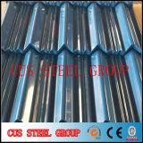 Feuille Matel de fournisseur de la Chine couvrant le prix galvanisé ridé de tôle d'acier, feuille ondulée du Gi PPGI