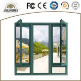 Tissu pour rideaux en aluminium Windows de certificat de la CE