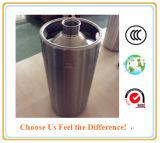 2L/4L/5L de Ijsschots van de Container van het Vaatje van het Bier van de Ambacht van het roestvrij staal