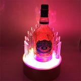 Indicador acrílico de Glorifier do frasco de cerveja com diodo emissor de luz