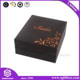 Klassischer Geschenk-Ohrring-Anhänger-Schmucksache-Kasten mit Silk Futter