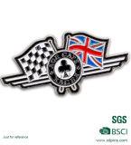 Pin su ordinazione della bandiera nazionale del metallo con la frizione della farfalla