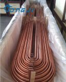 Câmaras de ar de cobre & tubulações sem emenda para o cambista de calor, condensador