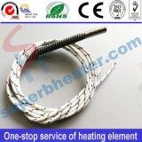 Calentador eléctrico tubular del cartucho del elemento de calefacción modificado para requisitos particulares