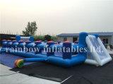 Heißer Verkaufs-aufblasbare Sport-Spiele/aufblasbares Fußball-Eintragfaden-Spiel des Fußball-Game/Inflatable