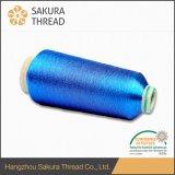 Hilado de bordado metálico de poliéster 120d / 2 para coser