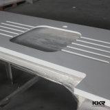 Kundenspezifischer Größen-Quarz-Küche-InselCountertop