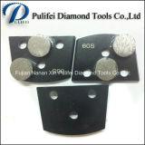 Конкретная пусковая площадка алмазных резцов HTC пола меля и диск трапецоида меля