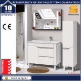 Hete Verkopende Vloer - het opgezette Witte MDF Kabinet van het Meubilair van de Badkamers