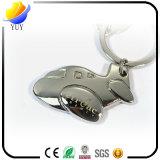 安い3D飛行機の金属のキーホルダー