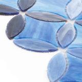 Hoja de cristal clara azul material del azulejo de mosaico de Buliding para la pared