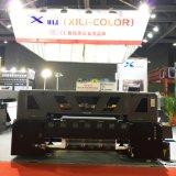 Xuli DTGプリンター-1.8m 4 5113 (デジタル織物印刷のためのコンベヤーベルトのスタックを用いる3PL)印字ヘッドDTGプリンター