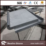 G684 Black Diamond Basalt Granite Swimming Pool Coping / Capping Stone