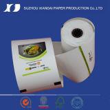 La mayoría del papel termal termal popular de la talla 48GSM 57*50 del rodillo del papel