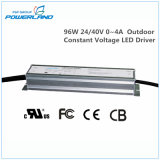 driver costante esterno Rainproof di tensione LED di 96W 24V/40V 0~4A