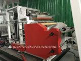 Machine de soufflement de film courant d'extrusion de Trois-Couche avec Rewinder automatique