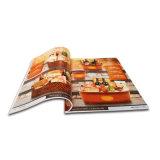 Catálogo impreso respetuoso del medio ambiente de encargo Softcover para las mercancías