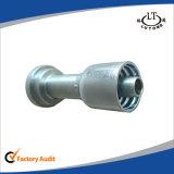 Garnitures de pipe d'une seule pièce de Parker de boyau hydraulique d'acier du carbone