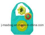 El bolso plegable del comprador de los regalos florece estilo del girasol, bolsos reutilizables, ligeros, de tienda de comestibles y práctico, los accesorios y decoración, promoción