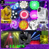 Luz principal movente da lavagem 3in1 do ponto do feixe do equipamento 10r 280W do disco do DJ do estágio