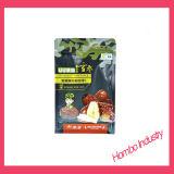 Bolsa plástica de embalaje de alimentos para frutos secos Quad Seal