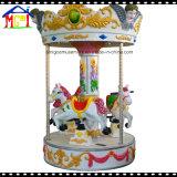 Carrossel pequeno do cavalo de 3 assentos para o divertimento das crianças
