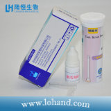 10-500mg/L Po4 3 -隣酸塩テストストリップかペーパー