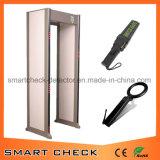 Металлический детектор безопасности, металлодетектор двери 33 зоны