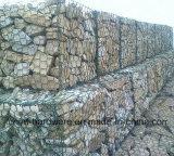 Überzogener Gabion Kasten Belüftung-/Steinrahmenfiletarbeit/China-Hebei