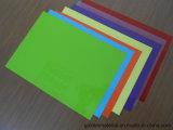 Strati rigidi di plastica del PVC A4 per il coperchio legante Using